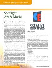 Spotlight on Art and Music