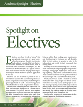 Spotlight on Electives