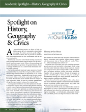 Spotlight on History, Civics, & Geography
