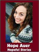 August 2013 Schoolhouse Expo-Hope Auer: How to Write a Novel: A Homeschooler's Journey to Becoming an Author