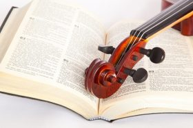 Bible-and-violin