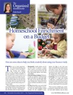 The Old Schoolhouse Magazine - November/December 2014