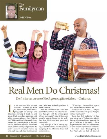 The Old Schoolhouse Magazine - November/December 2014