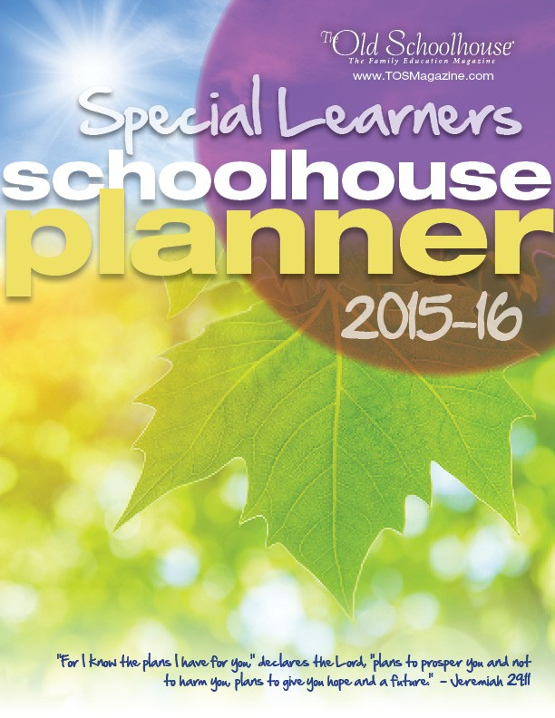 The 2015-16 Special Learners Schoolhouse Digital Planner