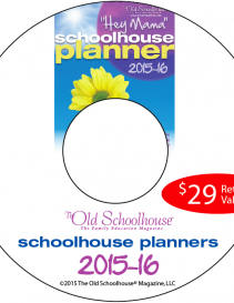 Hey Mama! Schoolhouse Planner 2015-16 (Digital or CD)