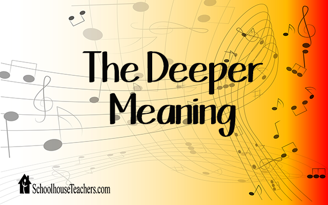 blog deeper meaning