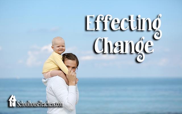 blog effecting change
