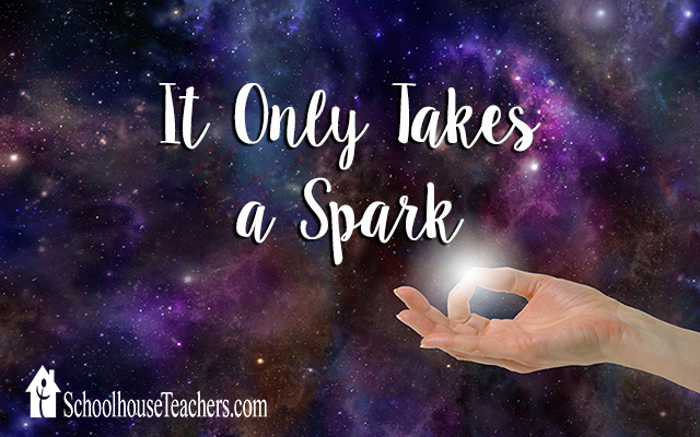 blog it only takes a spark