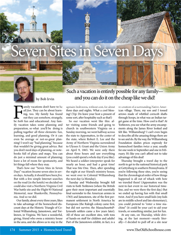 The Old Schoolhouse Magazine - Summer 2015