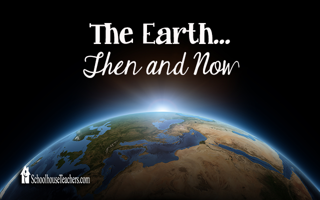 blog earth then and now