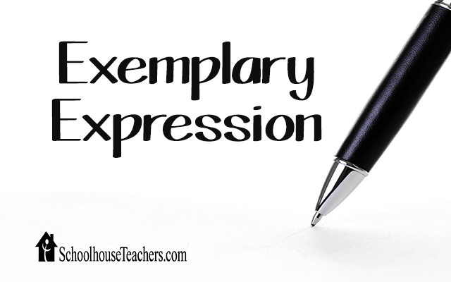 blog exemplary expression