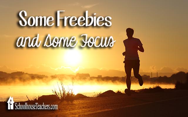 blog freebies and focus