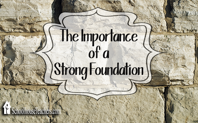 blog strong foundation