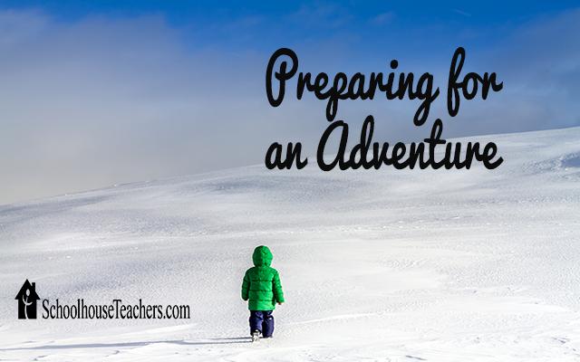 blog preparing for an adventure