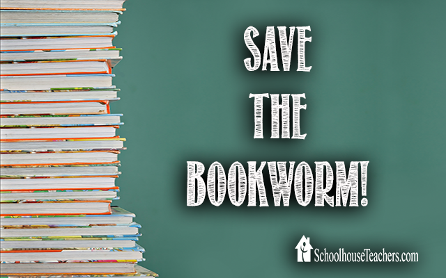 blog save the bookworm