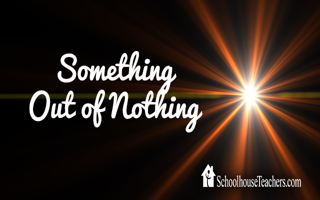 blog something out of nothing