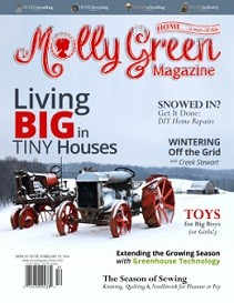 Molly Green Magazine: Winter on the Homestead 2015