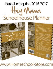 Hey Mama! DIGITAL Schoolhouse Planner 2016/17