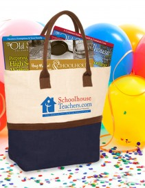 SchoolhouseTeachers.com Tote (bag only)