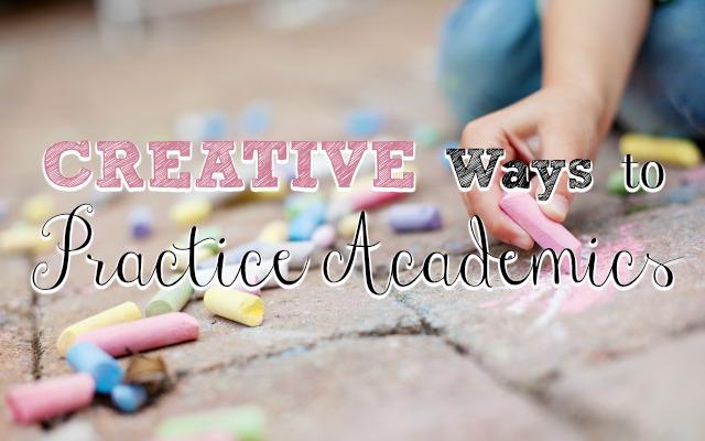 Creative Ways to Practice Academics