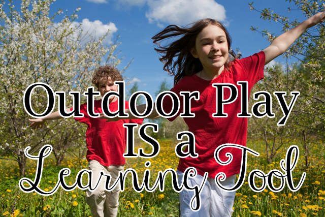 OutdoorPlayISaLearningTool