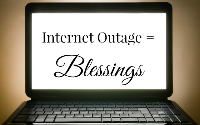 HwH - Internet-Outage=Blessings