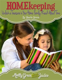 Molly Green Bite-Sized Guide: Unlock a Treasure in Your Home: Family Read-Aloud Time