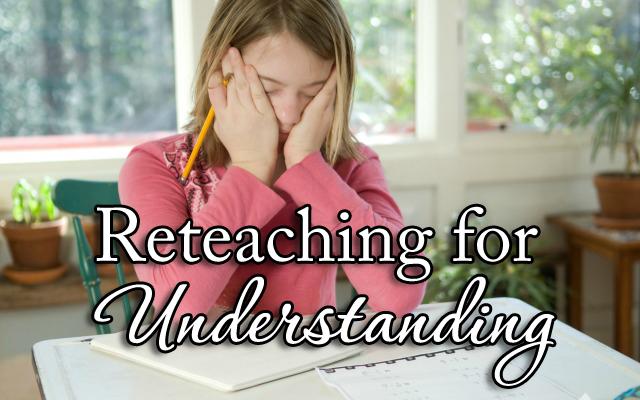 HwH-ReteachingForUnderstanding