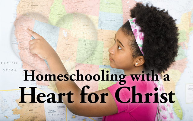 Let Him Guide Your Homeschool