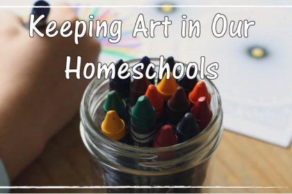 A Fresh Way To Incorporate Art Into Your Homeschool Schedule