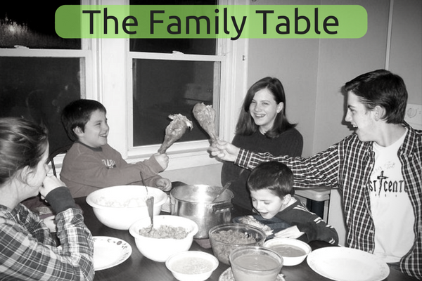 Turn Your Table Into The Family Time Zone