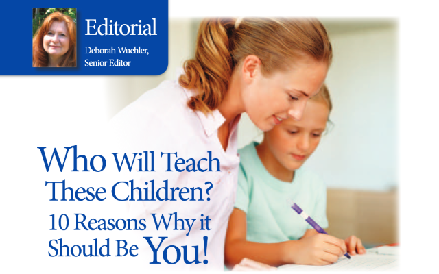 10 Reasons Why You Should Homeschool Your Children