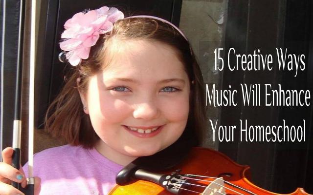 music will enhance your homeschool
