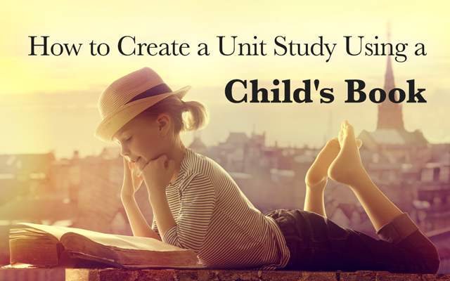 turn one children's book into an entire unit study
