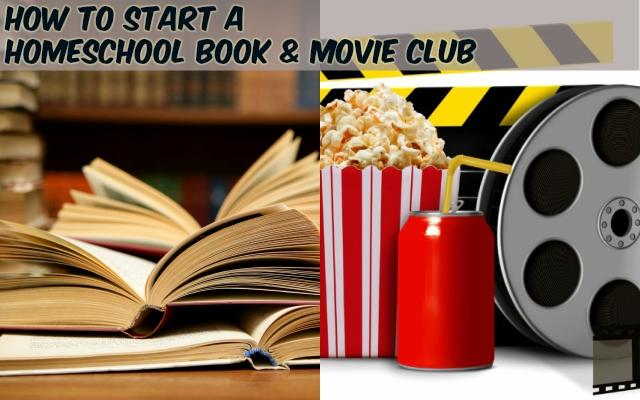 homeschool book and movie club