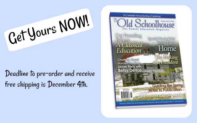 The Old Schoolhouse® Magazine