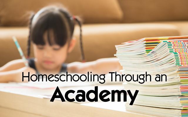 homeschooling through an academy