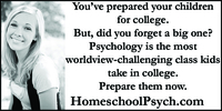 Homeschool Psych