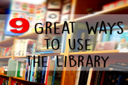 library in your homeschool