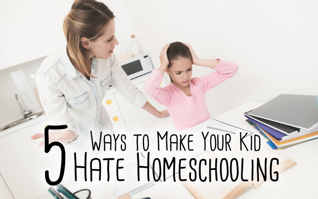 hate homeschooling