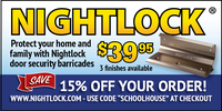 NightLock Door Security Services