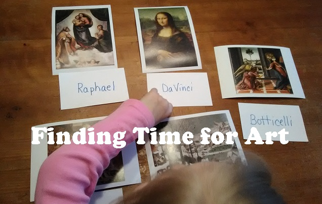 finding time for art