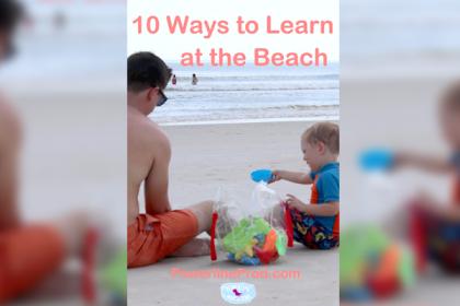 learn at the beach