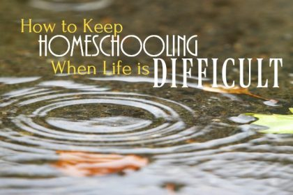 keep homeschooling