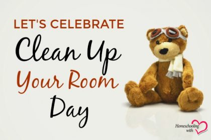 clean up your room