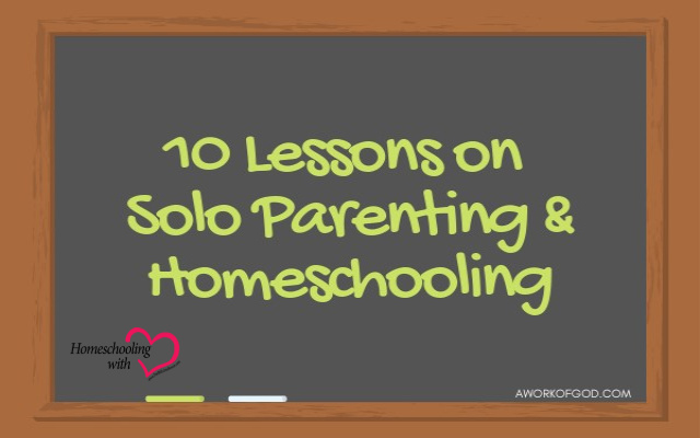 solo parenting