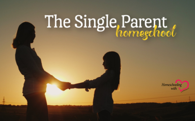 single parent homeschool