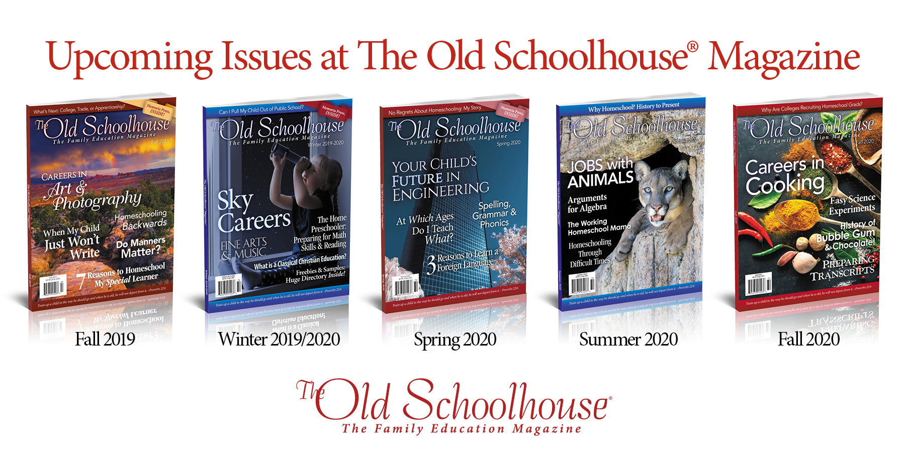 Writer's Guidelines and Upcoming Themes - The Old Schoolhouse