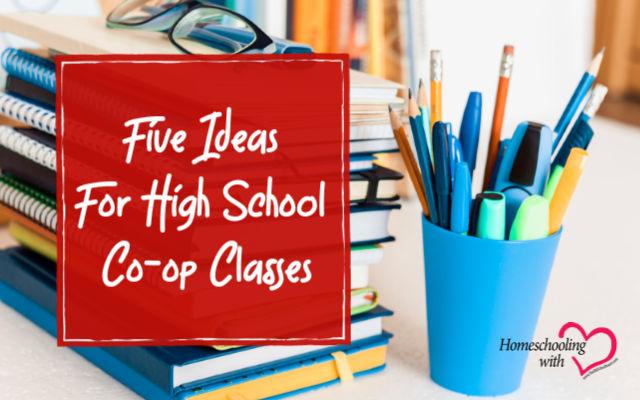 high school co-op classes