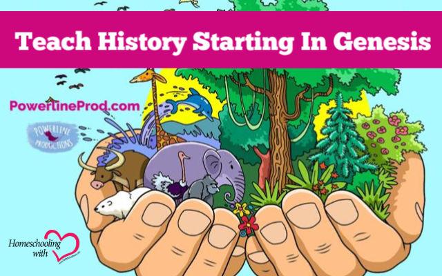 history starting in genesis